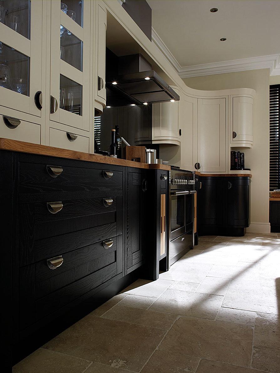 Using Dark Cabinets In The Kitchen Homematas