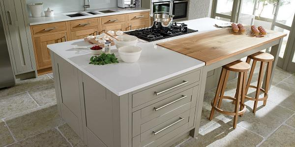 Key decisions for an effective kitchen island
