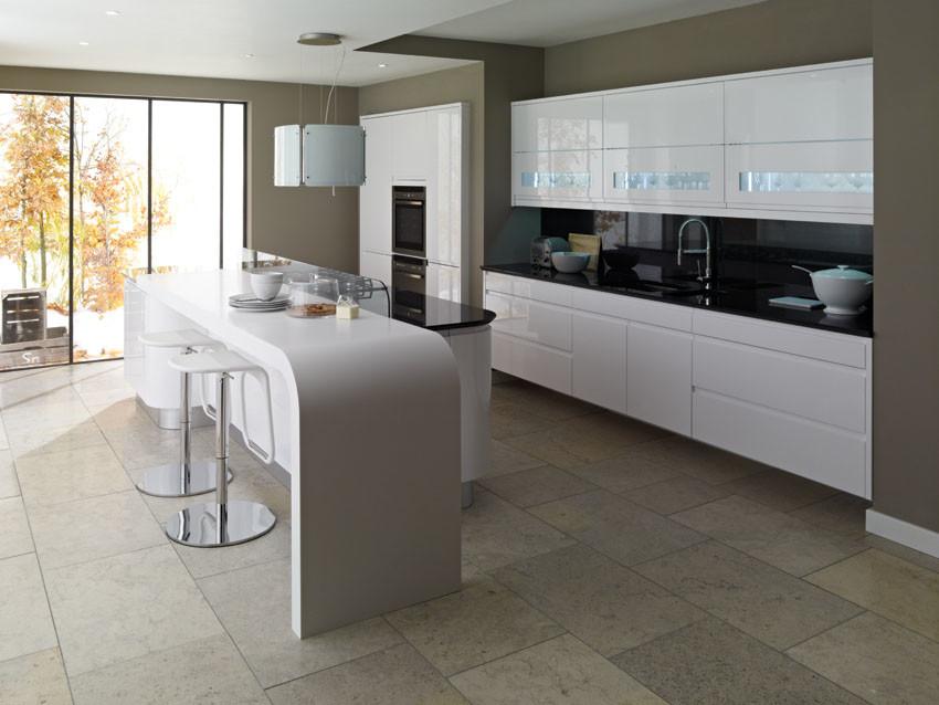 Handle Less Kitchen Design Ideas