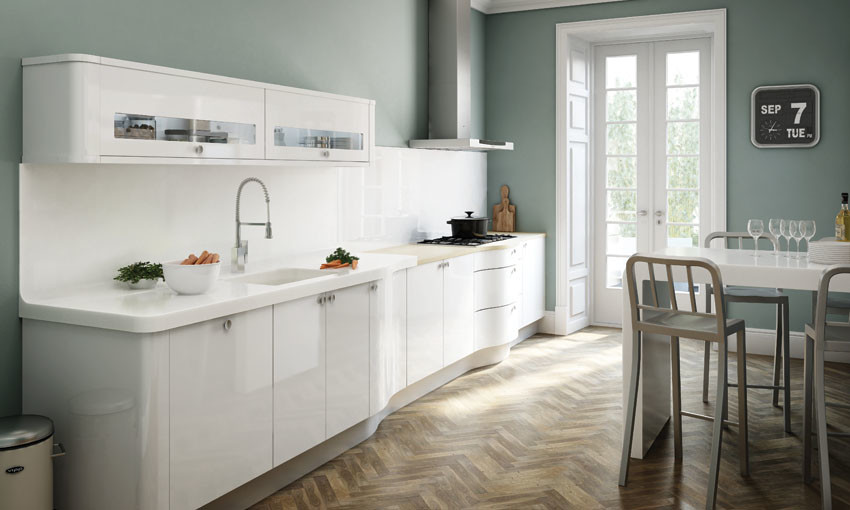 Avant White Homematas - Colours to match grey kitchen units