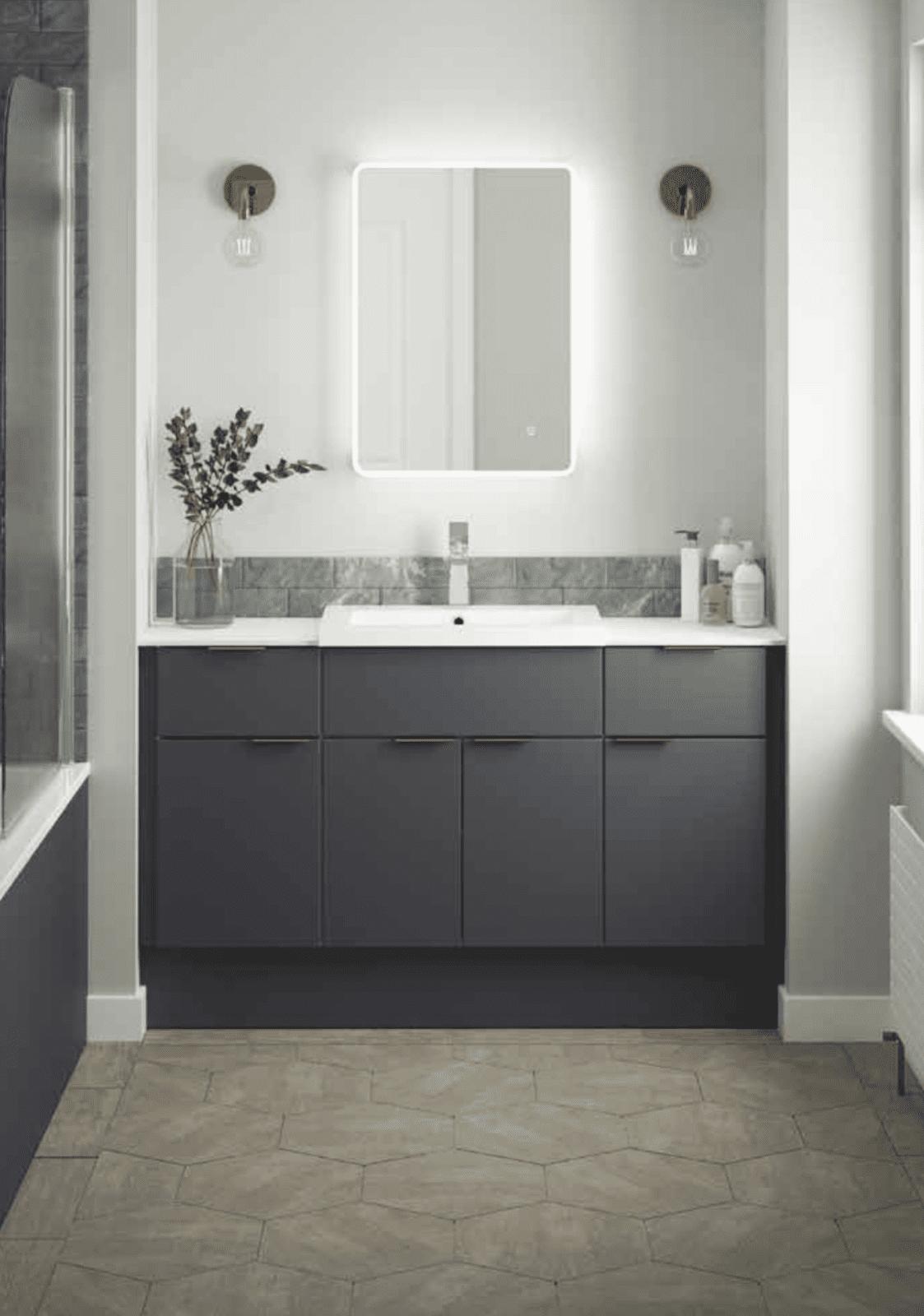 modern bathroom showroom in preston